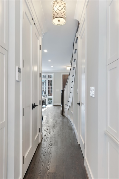 Real Estate Photography - 1530 W Wellington, Chicago, IL, 60657 - Hallway