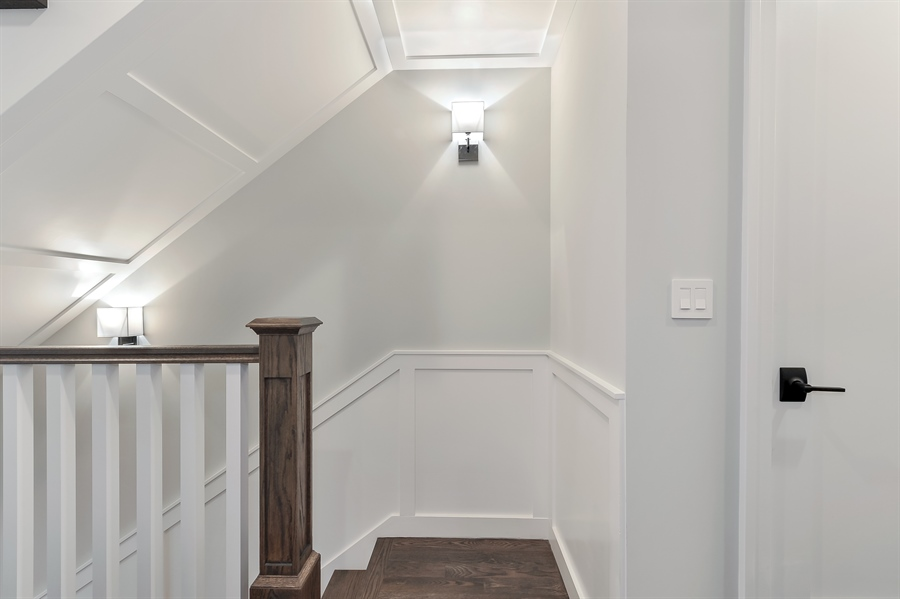 Real Estate Photography - 1530 W Wellington, Chicago, IL, 60657 - Staircase