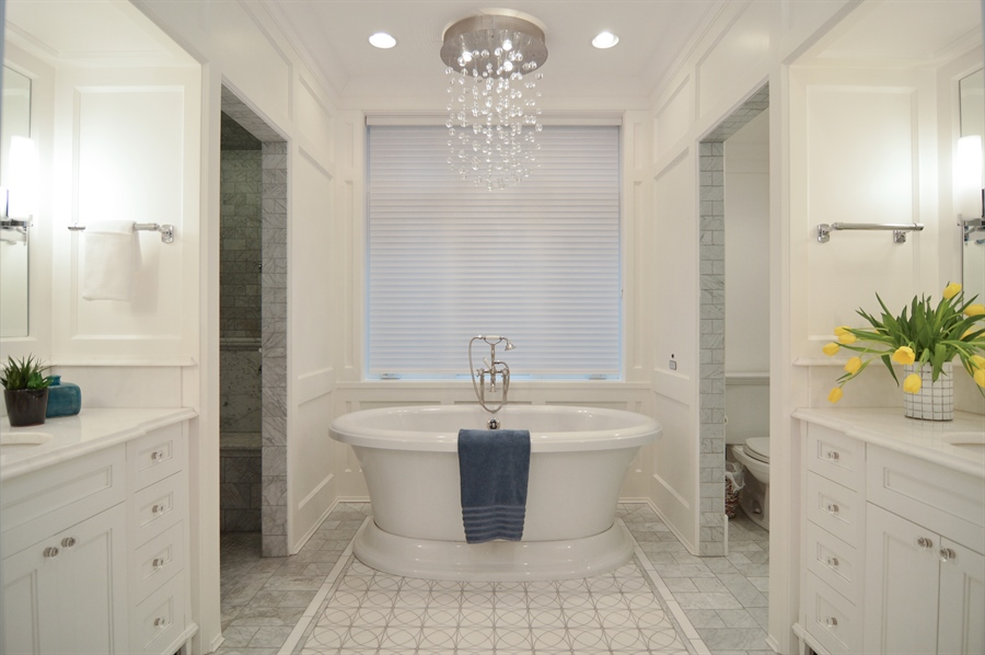 Real Estate Photography - 1705 N Dayton, Chicago, IL, 60614 - Master Bathroom