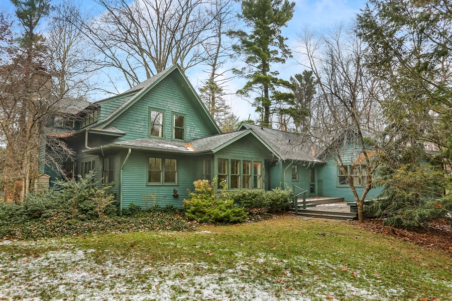 Real Estate Photography - 14805 Lakeside Road, Lakeside, MI, 49116 - Rear View