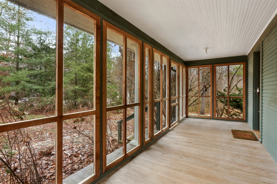Real Estate Photography - 14805 Lakeside Road, Lakeside, MI, 49116 - Porch