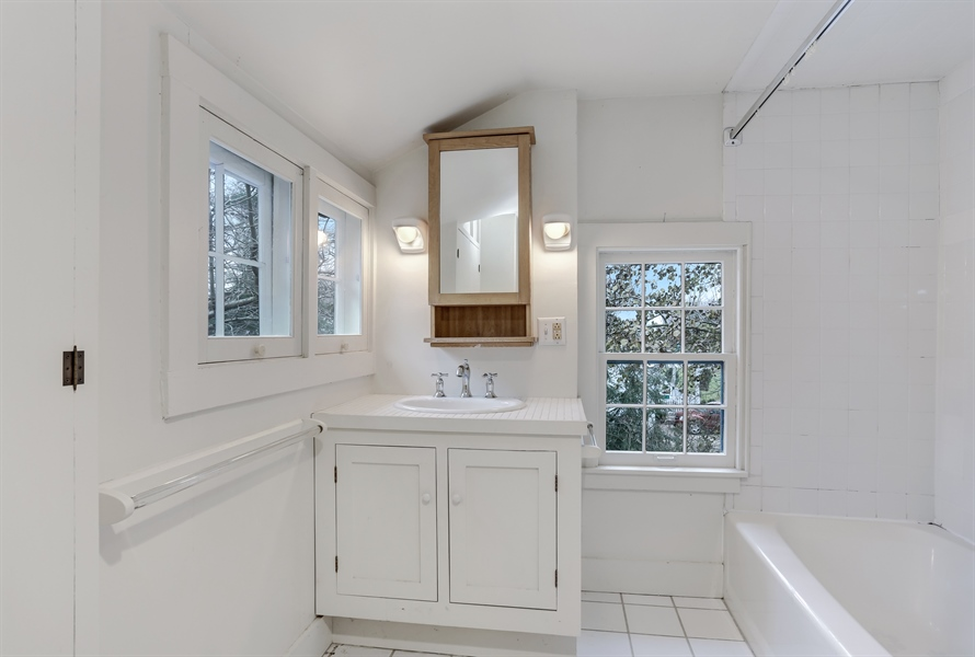 Real Estate Photography - 14805 Lakeside Road, Lakeside, MI, 49116 - Bathroom