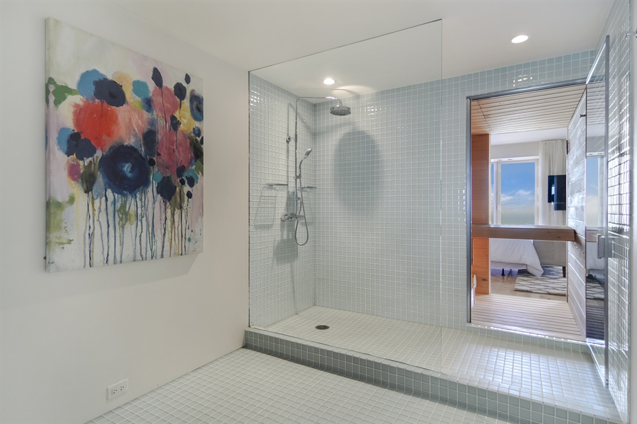 Real Estate Photography - 161 E Chicago, 55B, Chicago, IL, 60611 - Master Bathroom