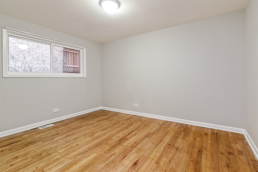 Real Estate Photography - 6140 N Winthrop, Unit D, Chicago, IL, 60660 - 3rd Bedroom