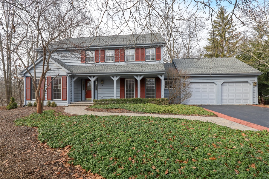 Real Estate Photography - 217 ascot ct, Lake bluff, IL, 60044 - Front View