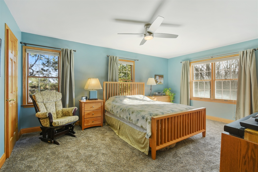 Real Estate Photography - 317 Appley Avenue, Libertyville, IL, 60048 - Master Bedroom