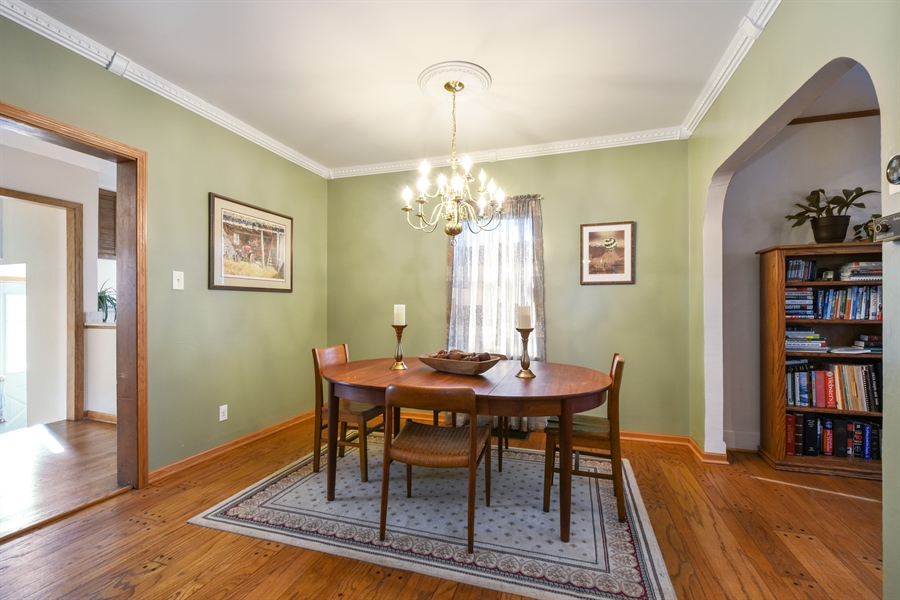 Real Estate Photography - 317 Appley Avenue, Libertyville, IL, 60048 - Dining Room