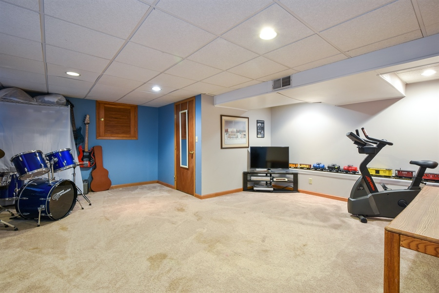 Real Estate Photography - 317 Appley Avenue, Libertyville, IL, 60048 - Basement
