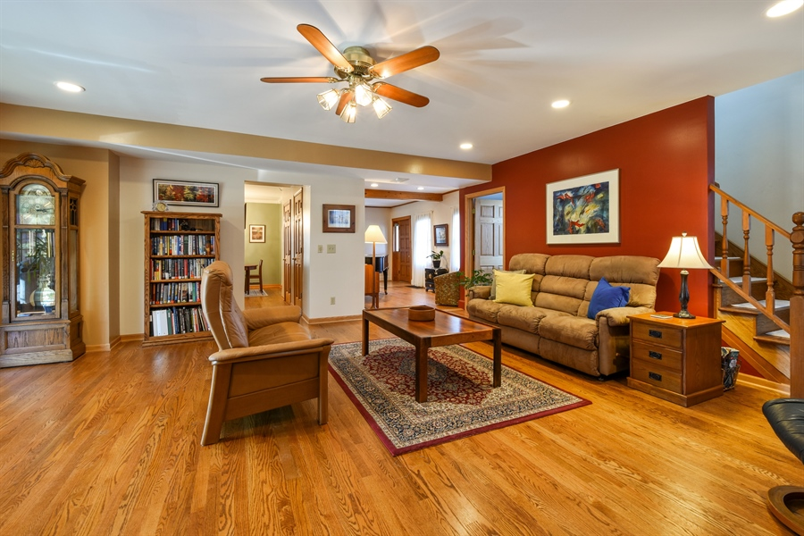 Real Estate Photography - 317 Appley Avenue, Libertyville, IL, 60048 - Family Room