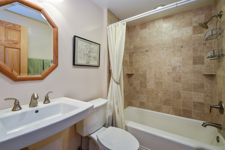 Real Estate Photography - 317 Appley Avenue, Libertyville, IL, 60048 - Bathroom