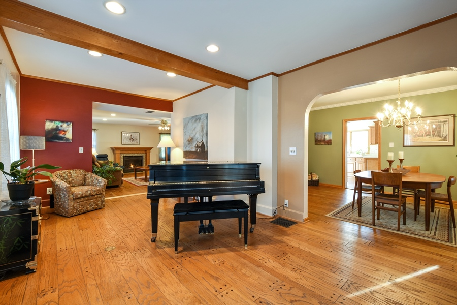 Real Estate Photography - 317 Appley Avenue, Libertyville, IL, 60048 - Living Room / Dining Room