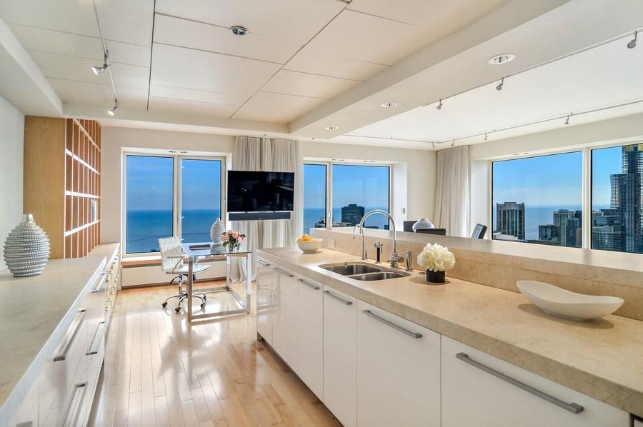 Real Estate Photography - 161 E Chicago, 56B, Chicago, IL, 60611 - Kitchen