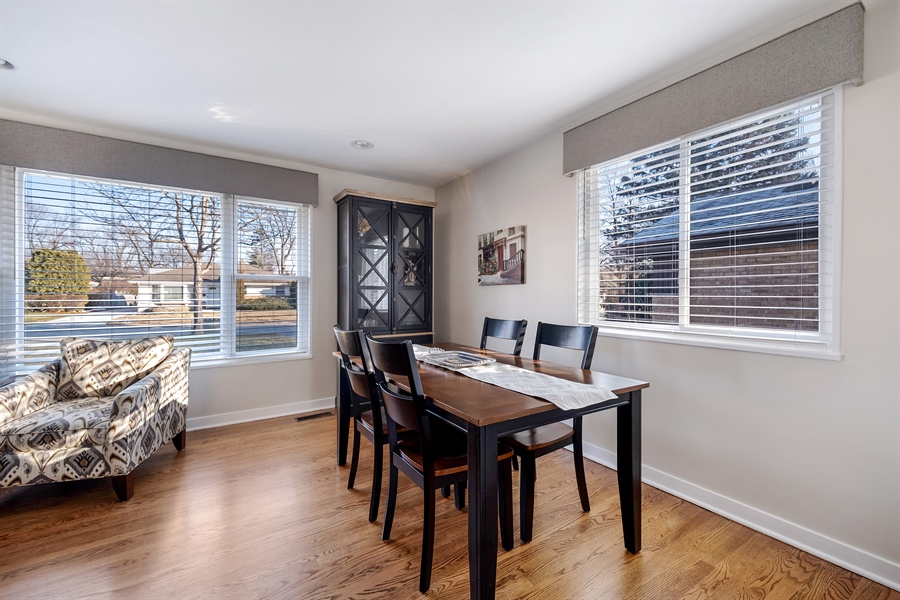 Real Estate Photography - 848 Meadowlark, Glenview, IL, 60025 - Dining Room