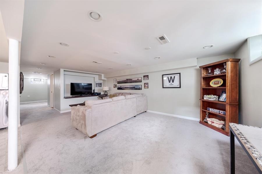 Real Estate Photography - 848 Meadowlark, Glenview, IL, 60025 - Basement