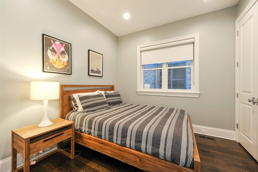 Real Estate Photography - 2769 N Kenmore Ave, Unit 2, Chicago, IL, 60614 - 3rd Bedroom