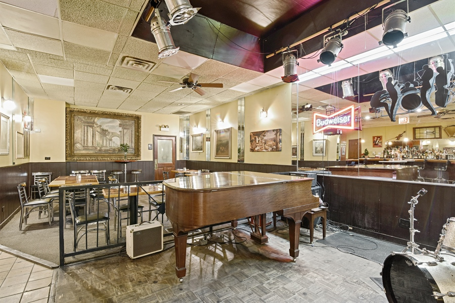 Real Estate Photography - 3144 W Irving Park Rd, Chicago, IL, 60618 - Dining Area