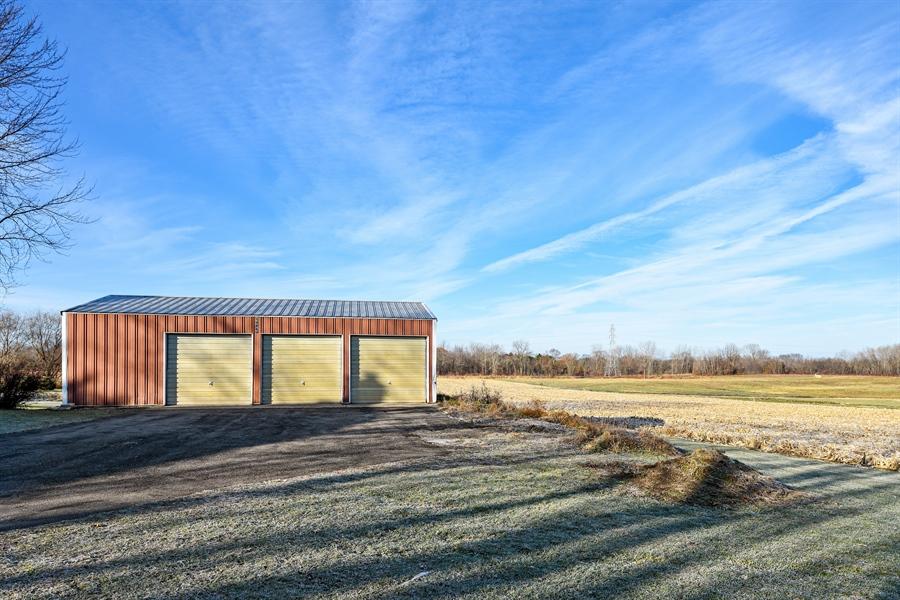 Real Estate Photography - 6040 Lincoln Avenue, Stevensville, MI, 49127 - Garage