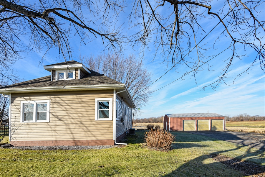 Real Estate Photography - 6040 Lincoln Avenue, Stevensville, MI, 49127 - Side View