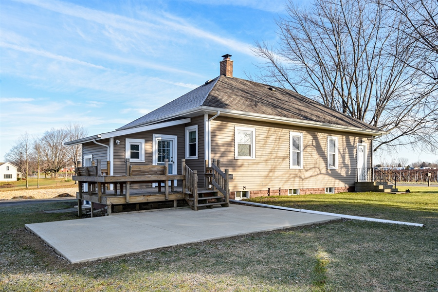 Real Estate Photography - 6040 Lincoln Avenue, Stevensville, MI, 49127 - Rear View