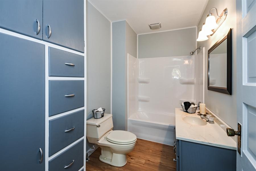 Real Estate Photography - 6040 Lincoln Avenue, Stevensville, MI, 49127 - Bathroom