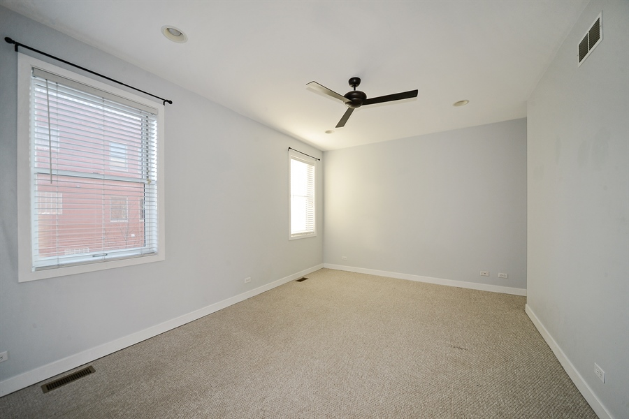 Real Estate Photography - 1101 N. Hermitage, 1R, chicago, IL, 60622 - Master Bedroom