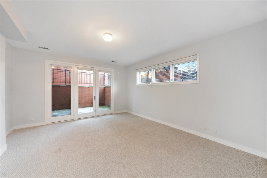 Real Estate Photography - 1101 N. Hermitage, 1R, chicago, IL, 60622 - Third Bedroom