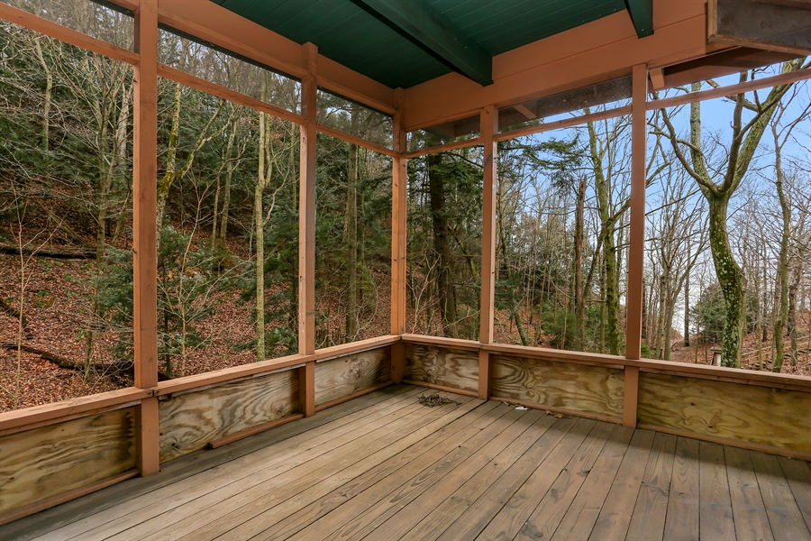 Real Estate Photography - 36262 Blue Star Highway, Covert, MI, 49043 - Screen Porch