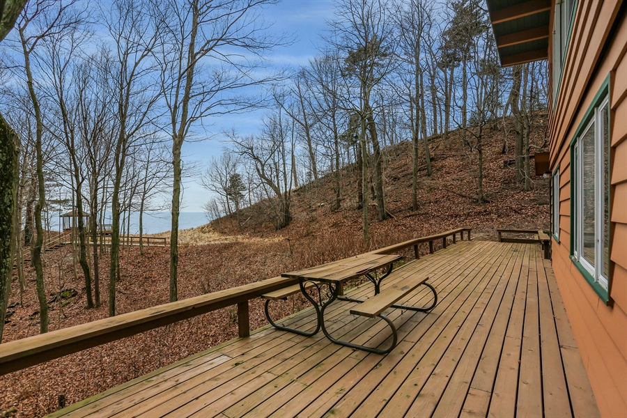 Real Estate Photography - 36262 Blue Star Highway, Covert, MI, 49043 - Deck