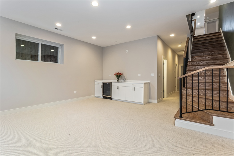 Real Estate Photography - 519 East 46th, Chicago, IL, 60653 - Basement