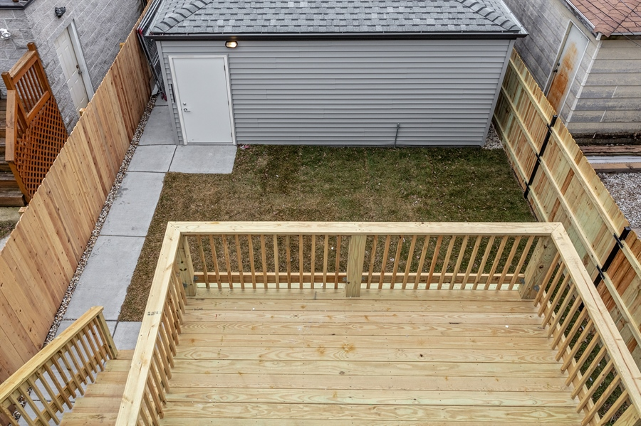 Real Estate Photography - 519 East 46th, Chicago, IL, 60653 - Back Yard