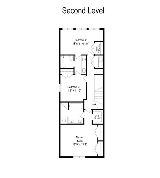 Real Estate Photography - 519 East 46th, Chicago, IL, 60653 - Floor Plan