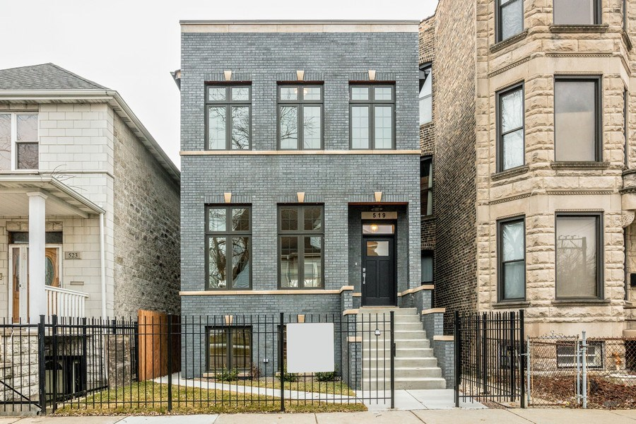 Real Estate Photography - 519 East 46th, Chicago, IL, 60653 - Front View