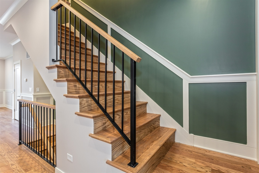 Real Estate Photography - 519 East 46th, Chicago, IL, 60653 - Staircase