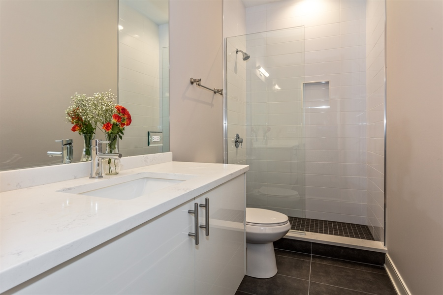 Real Estate Photography - 519 East 46th, Chicago, IL, 60653 - Bathroom