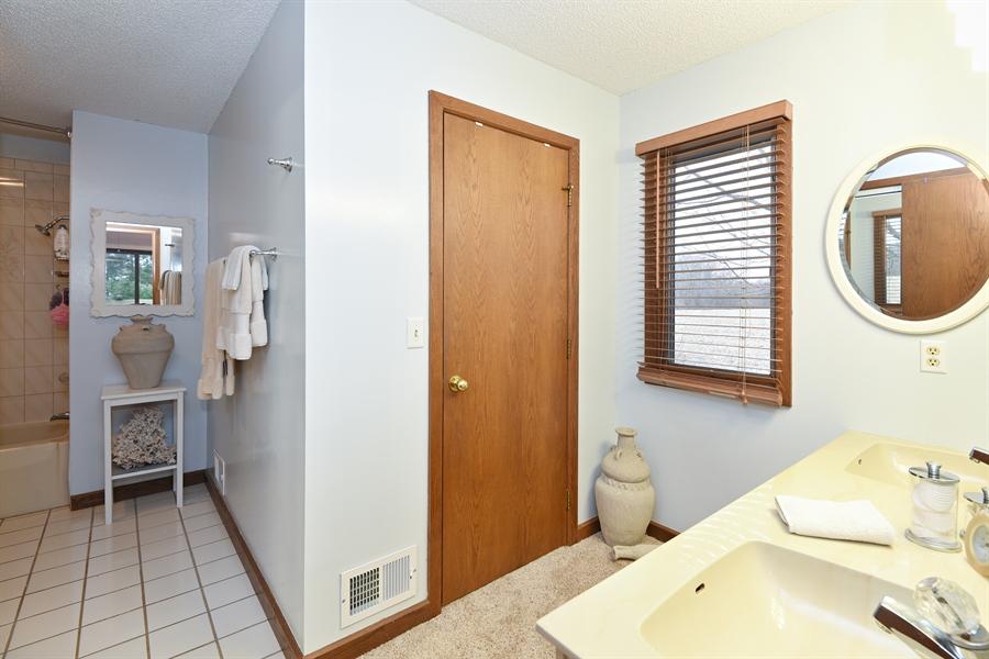 Real Estate Photography - 4028 Ravina Ter, St Joseph, MI, 49085 - Master Bathroom