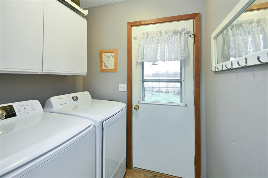 Real Estate Photography - 4028 Ravina Ter, St Joseph, MI, 49085 - Laundry Room