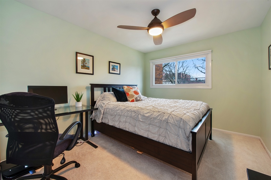 Real Estate Photography - 2129 N Magnolia, Unit A, Chicago, IL, 60614 - 2nd Bedroom