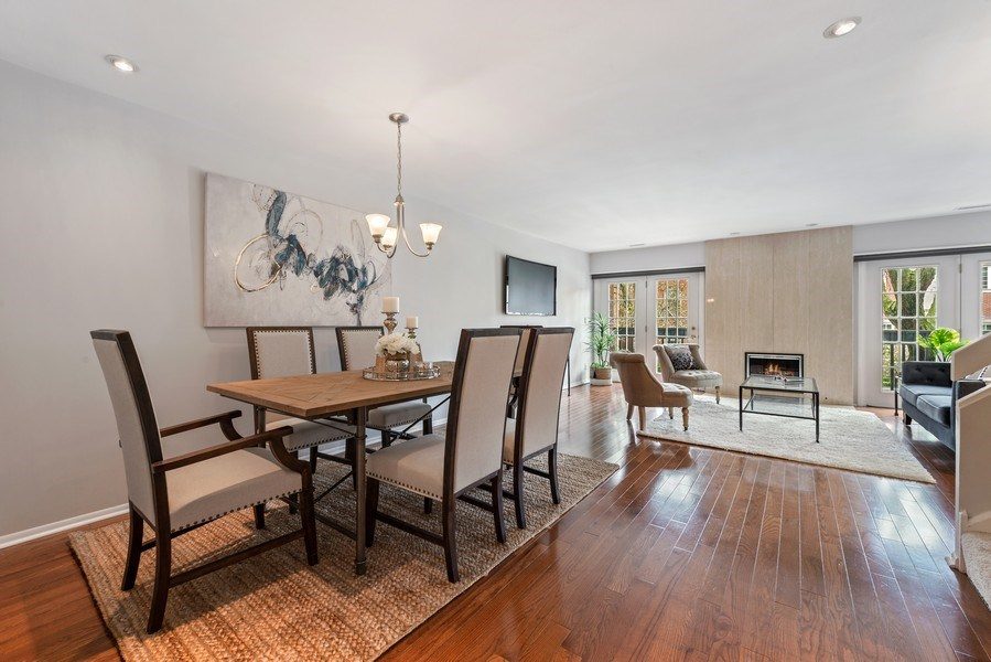 Real Estate Photography - 2129 N Magnolia, Unit A, Chicago, IL, 60614 - Dining Room