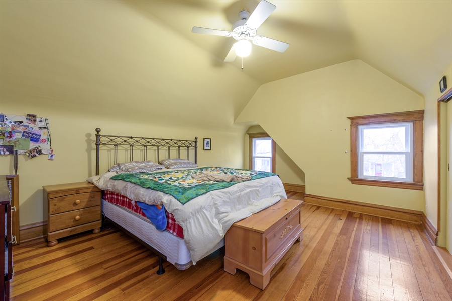 Real Estate Photography - 4235 N Montecello, Chicago, IL, 60618 - Master Bedroom