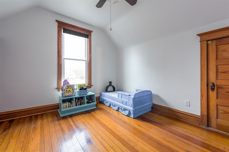 Real Estate Photography - 4235 N Montecello, Chicago, IL, 60618 - 3rd Bedroom