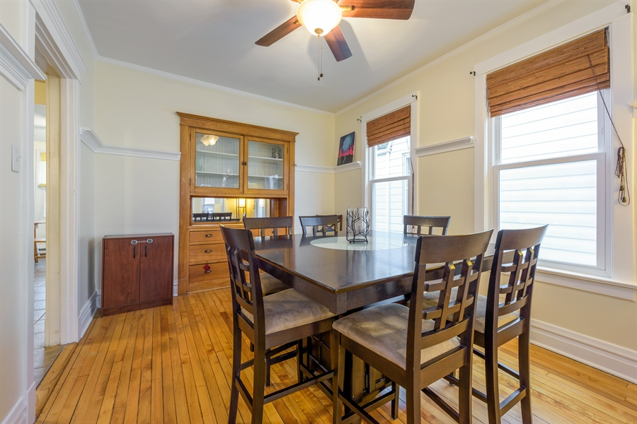 Real Estate Photography - 4235 N Montecello, Chicago, IL, 60618 - Dining Room