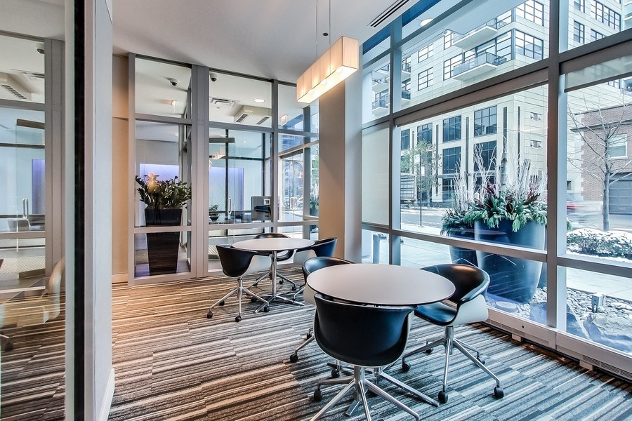 Real Estate Photography - 110 W Superior, 2501, Chicago, IL, 60654 - Business Center