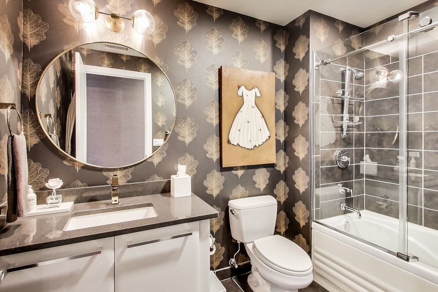 Real Estate Photography - 110 W Superior, 2501, Chicago, IL, 60654 - Bathroom 3