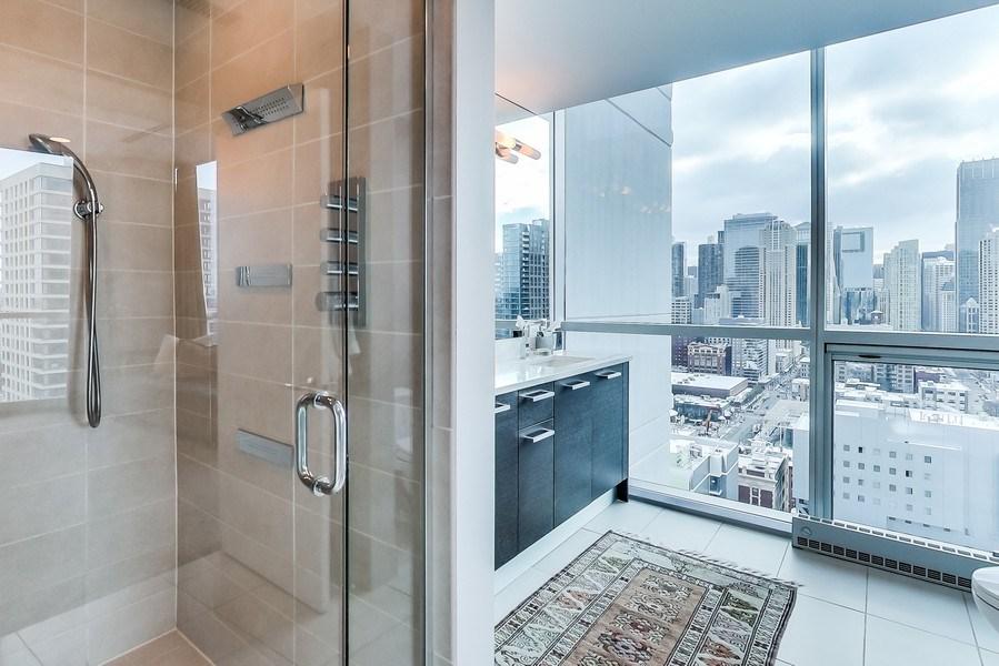 Real Estate Photography - 110 W Superior, 2501, Chicago, IL, 60654 - Master Bathroom