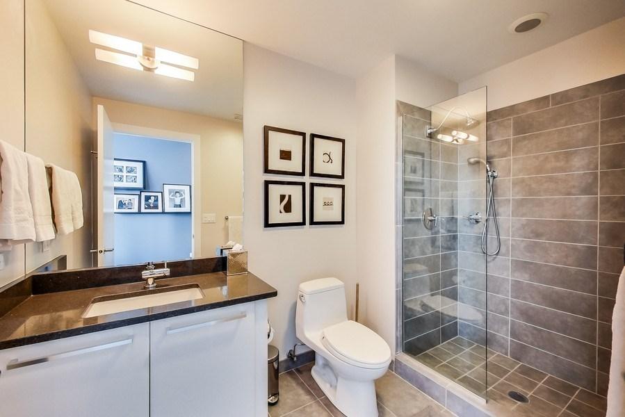 Real Estate Photography - 110 W Superior, 2501, Chicago, IL, 60654 - Bathroom 2