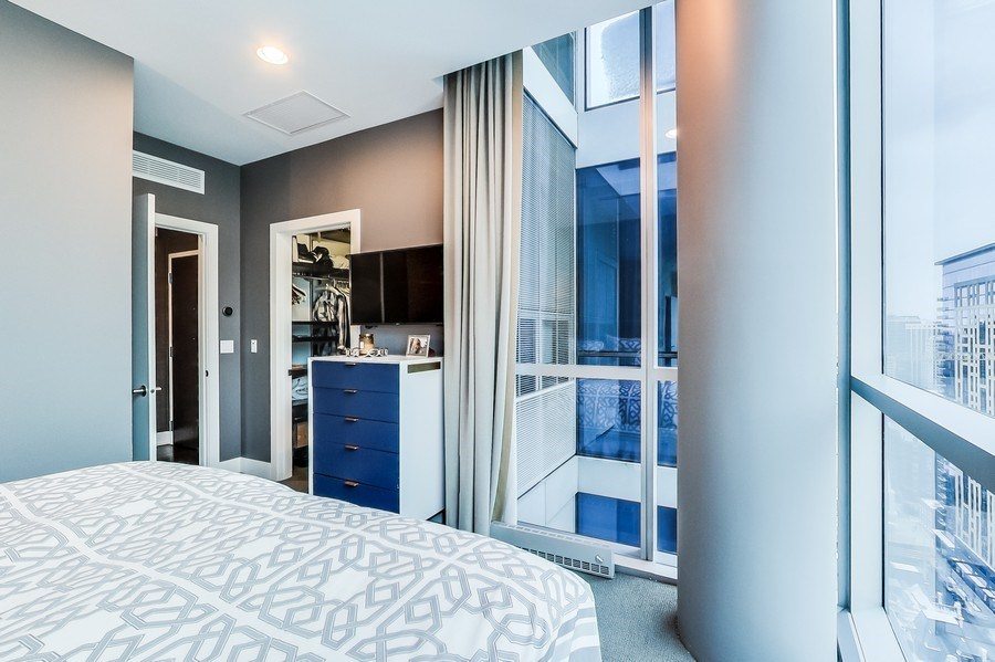 Real Estate Photography - 110 W Superior, 2501, Chicago, IL, 60654 - Bedroom 3