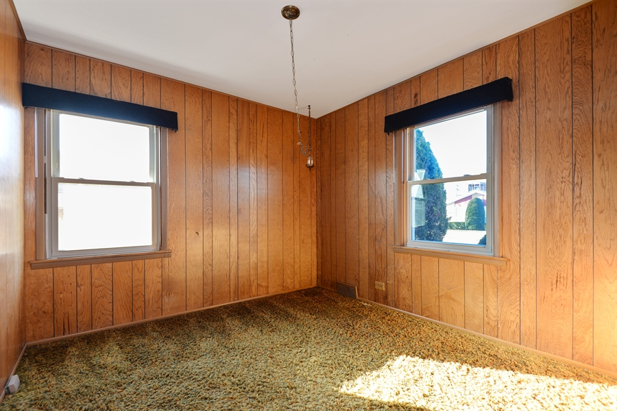 Real Estate Photography - 8427 Central Park Ave, Skokie, IL, 60076 - 2nd Bedroom