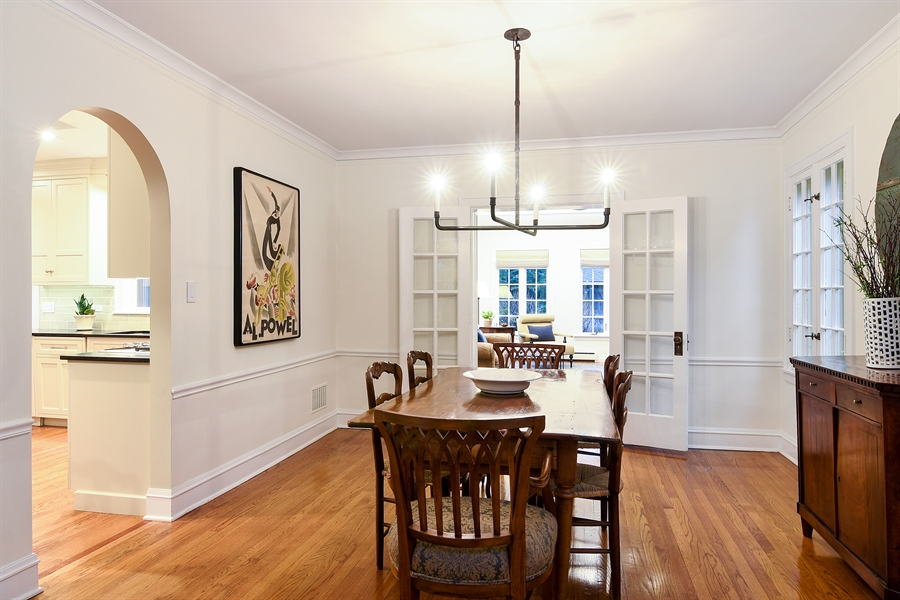 Real Estate Photography - 1935 Thornwood Ave, Wilmette, IL, 60091 - Dining Room