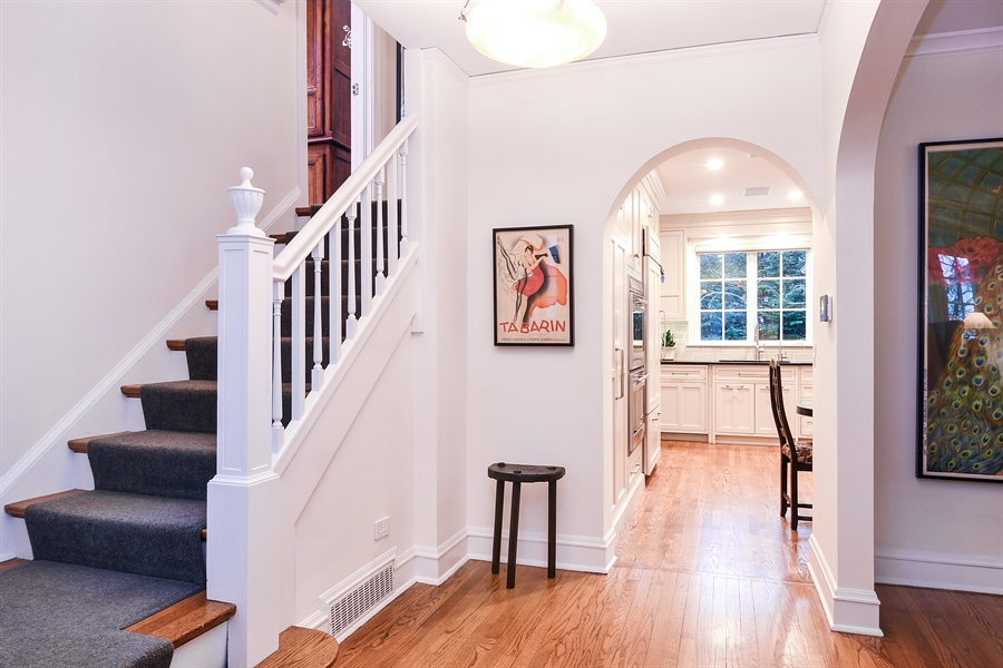 Real Estate Photography - 1935 Thornwood Ave, Wilmette, IL, 60091 - Foyer