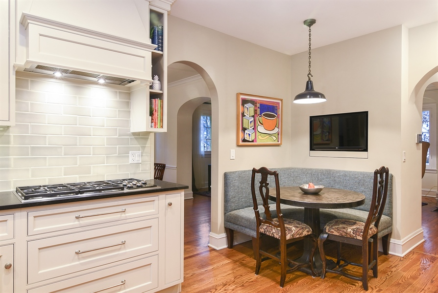 Real Estate Photography - 1935 Thornwood Ave, Wilmette, IL, 60091 - Breakfast Nook